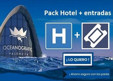 Hotel con entradas Oceanografic Valencia